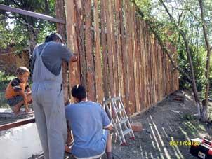 изработване на ограда